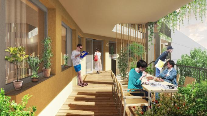 ucb blaue insel eg cohousing berlin. Black Bedroom Furniture Sets. Home Design Ideas
